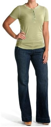 Agave Denim Agave Nectar Sol Kapalua Stripe Jeans - Flex Trouser Fit, Flare Leg (For Women)