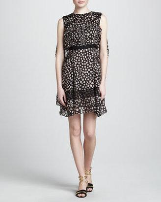 Jason Wu Print Dress with Flyaway Back