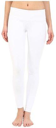 Alo Airbrushed Legging (White) Women's Workout