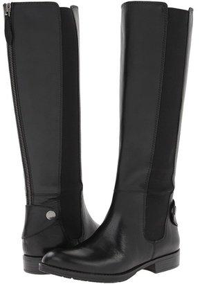 Franco Sarto Tahini (Black Leather) - Footwear