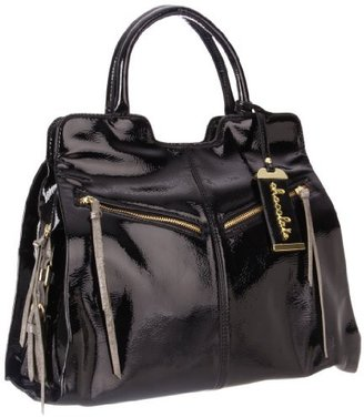 Chocolate Hillary 56892 Patent Satchel