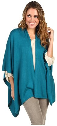 Echo Everyday Ruana (Teal) - Apparel