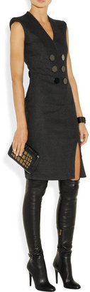 Jimmy Choo Tamba stretch-leather over-the-knee boots