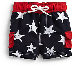 Hartstrings Infant's Stars Swim Trunks