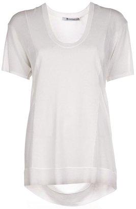 Alexander Wang scoop neck t-shirt