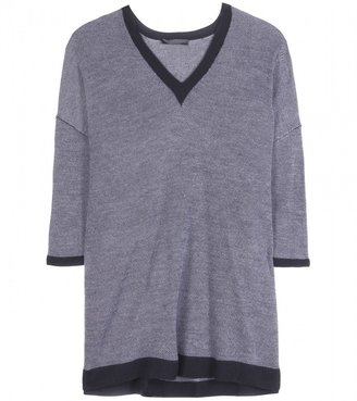 The Row ARITZIA CASHMERE AND SILK-BLEND PULLOVER
