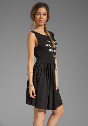 Wildfox Couture Pizza Party Baby Doll Dress