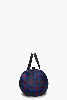Marc by Marc Jacobs Navy Mesh Packables Duffle Bag