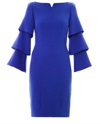 Roksanda Alcott wool-crepe dress