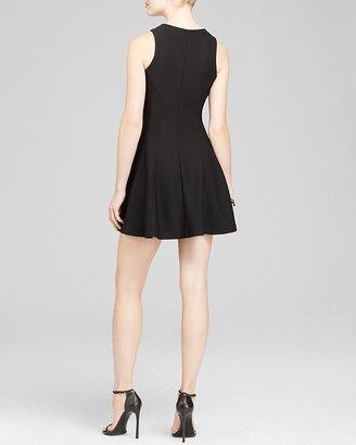 Aqua Dress - Texture Ponte