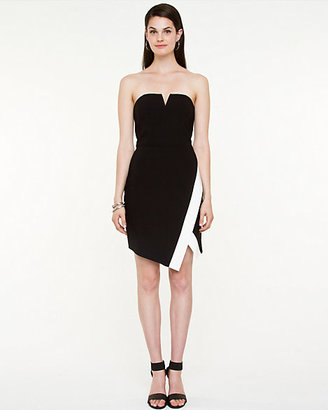 Le Château Stretch Sweetheart Fitted Dress