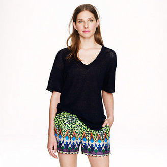 J.Crew Collection gemstone floral short