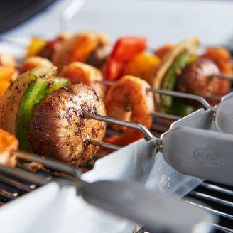 Rosle BBQ Kebab Rack with Skewers