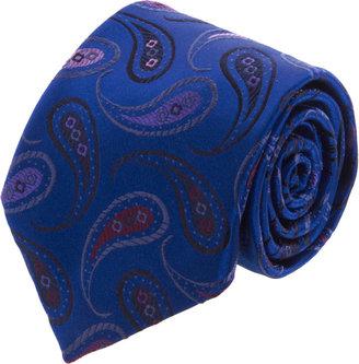 Duchamp Paisley Pois Tie
