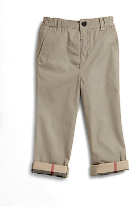 Burberry Toddler's Twill Chinos