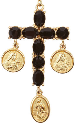 Dolce & Gabbana Sicilia rosary-inspired beaded necklace