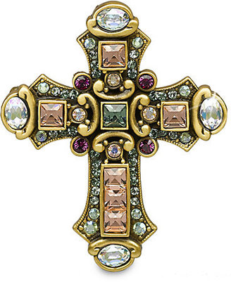 Jay Strongwater Medieval Cross Pin/Pendant