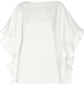 Chloé Ruffled cotton top