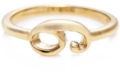 Lulu Frost Code Yellow gold #9 ring