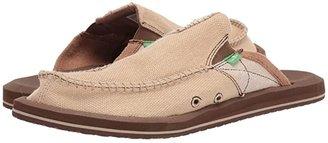 Sanuk You Got My Back II (Tan) Men's Slip on Shoes