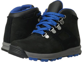 Timberland Kids Earthkeepers® GT Scramble Mid Leather Waterproof (Toddler/Little Kid)