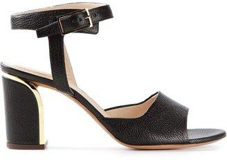 Chloé metallic heel sandals