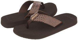 Reef Sassy Sandra (Brown/Brown) - Footwear