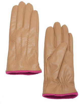 GUESS by Marciano Two Tone Leather Glove
