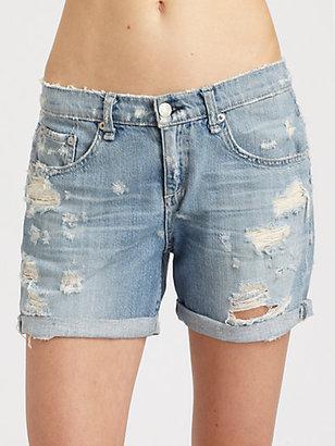 Rag and Bone The Boyfriend Denim Shorts