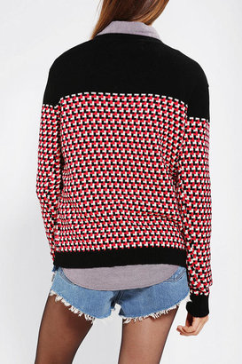 Urban Outfitters Love Madly Mod Intarsia Sweater