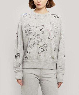 Isabel Marant oile Tigrane Printed Cotton Sweatshirt