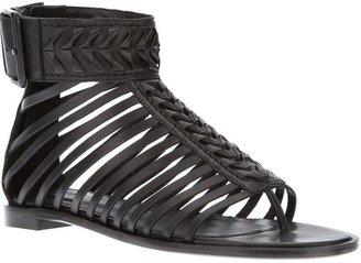 Haider Ackermann multi strap sandal