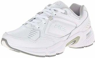 Fila Women's Memory Comfort Trainer Slip Resistant Work Shoe $37.42 thestylecure.com