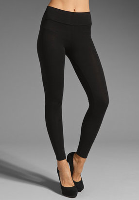 Michael Stars Stretch Jersey Full Length Leggings