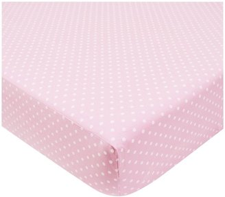 American Baby Company ABC Percale 4 pc Toddler Bed Set - Pink