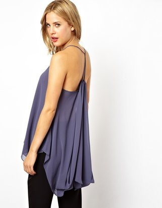 Asos Cami with Dramatic Drape Back
