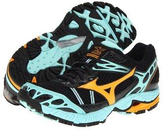 Mizuno Wave Ascend 7 (Anthracite/Zinnia/Aruba Blue) - Footwear