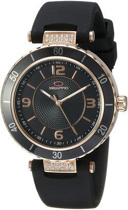 Seapro Women's SP6414 Seductive Analog Display Swiss Quartz Black Watch