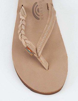 Rainbow Flirty Braidy Womens Sandals