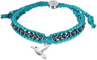 Sho London Hummingbird Friendship Silk Bracelet