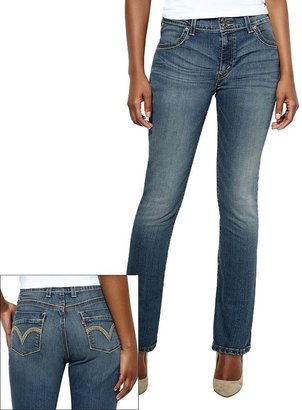 Levi's straight-leg jeans - petite
