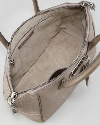 VBH Brera Leather Satchel Bag, Beige