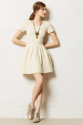 Anthropologie Cabled Sweater Dress