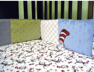 Trend Lab Dr. Seuss The Cat in the Hat Crib Bumper by