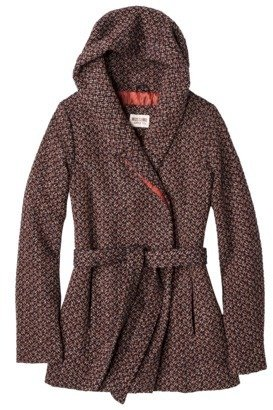Mossimo Junior's Wool Wrap Jacket -Printed