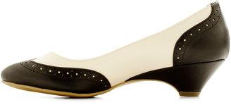 Bait Footwear Sweet Spectator Heel in Licorice