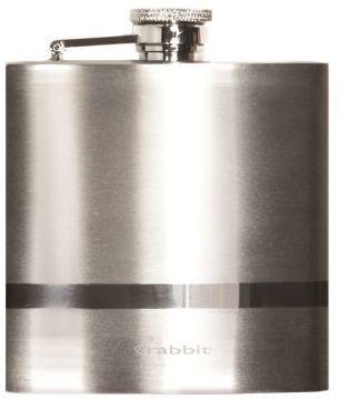 Metrokane Stainless Steel Pocket Flask, 6 oz.