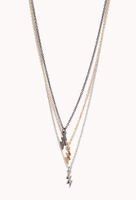 Forever 21 High-Voltage Layered Necklace