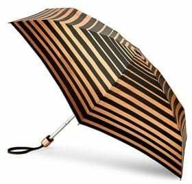 Fulton Bands of Gold Print Umbrella