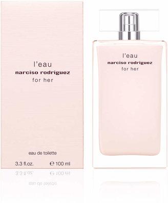Narciso Rodriguez For Her L'eau Eau de Toilette, 3.3oz